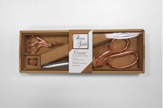 Набор из двух ножниц и наперстка RoseGold GL B4724
