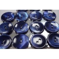 Пуговица перламутр синяя 20 мм PRT 28121903