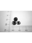 Кнопка черная 7 мм PRT 10012008
