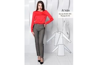 Блузка Агава р-ры 42-50 BL001-001