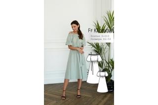 Платье Каллизия р-ры 42-50 D-010