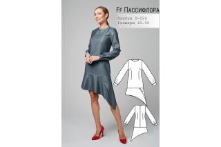 Платье Пассифлора р-ры 42-50 D-024