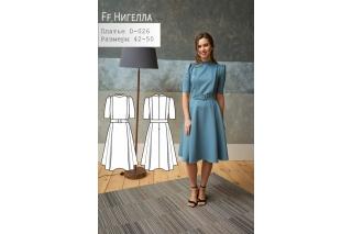 Платье Нигелла р-ры 42-50 D-026