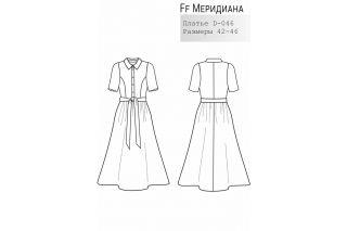Платье Меридиана р-ры 42-46 D-046