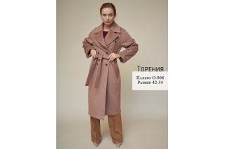Пальто Торения р-ры 42-54 O-008
