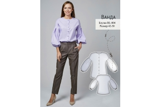 Рубашка Ванда р-ры 42-50 BL-004