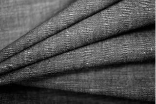 Плательный хлопок под джинсу черный PRT 1031787