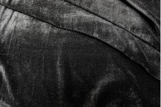 Бархат шелковый черный PRT 11031717